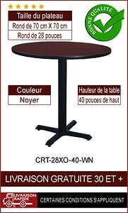 """Ensemble de table de restaurant complet 28"""""""