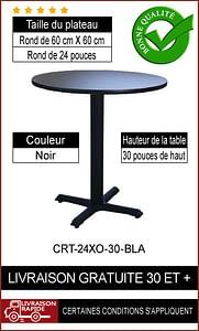 """Ensemble de table de restaurant complet 24"""""""