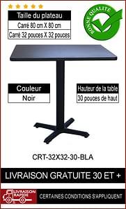 """Ensemble de table de restaurant complet 32x32"""""""