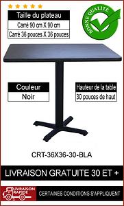 """Ensemble de table de restaurant complet 36x36"""""""